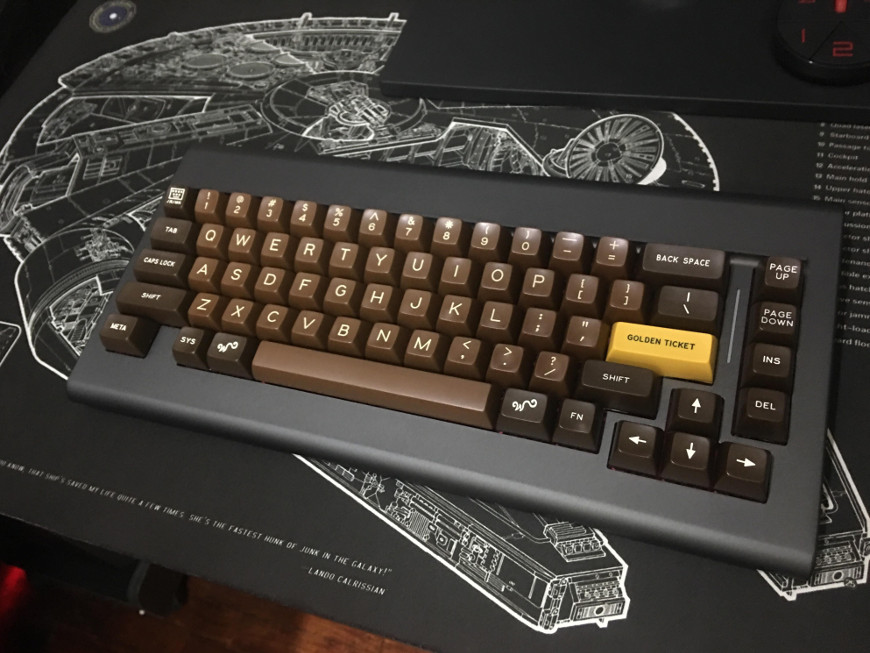 Keyboard of the day: Choco novelties from PMK