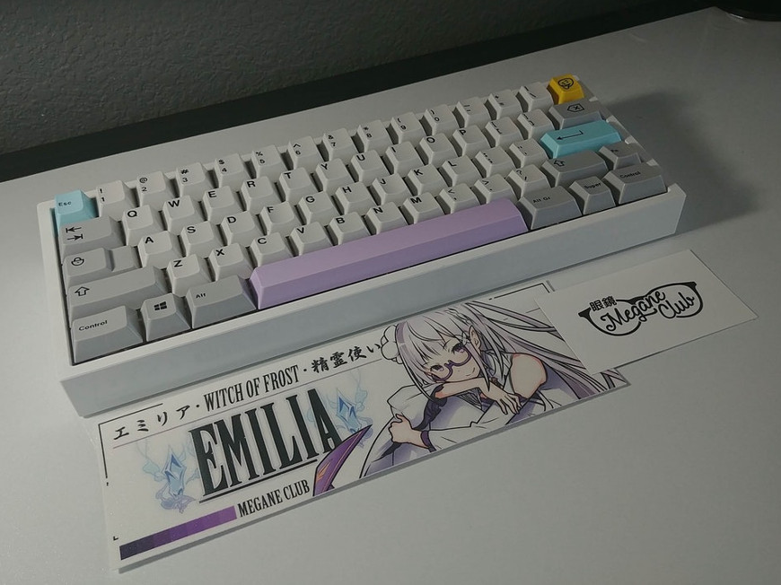 Keyboard of the day: I love Emilia