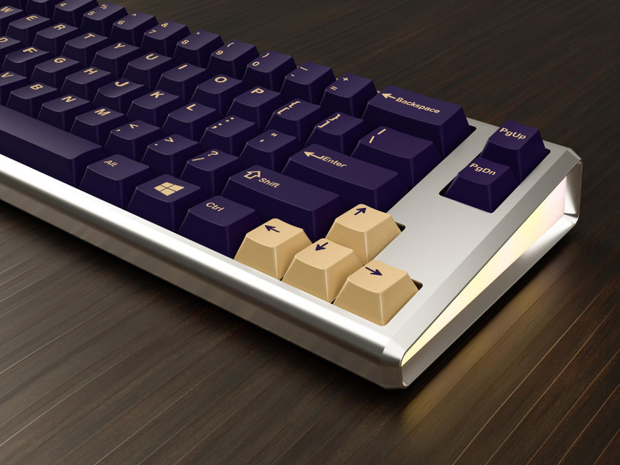 Keyboard of the day: GMK Phantom